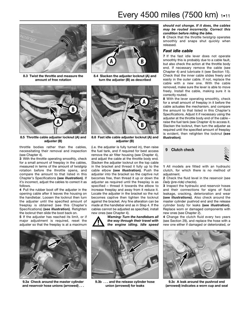 Honda CBR125/250R & CRF250L/M (11-14) Haynes Repair Manual