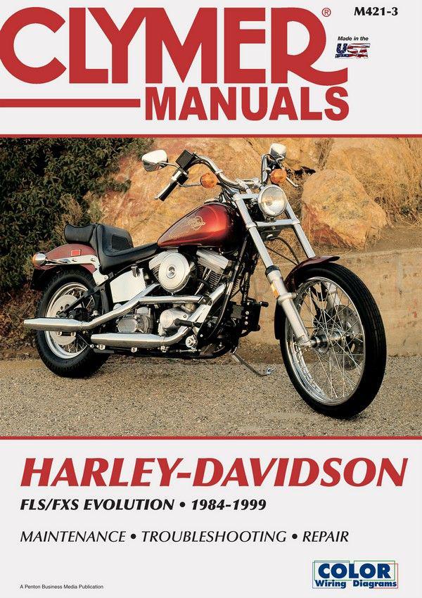 Harley-Davidson FLS-FXS Evolution, Evo Softail, Fat Boy (1984-1999) Service Repair Manual