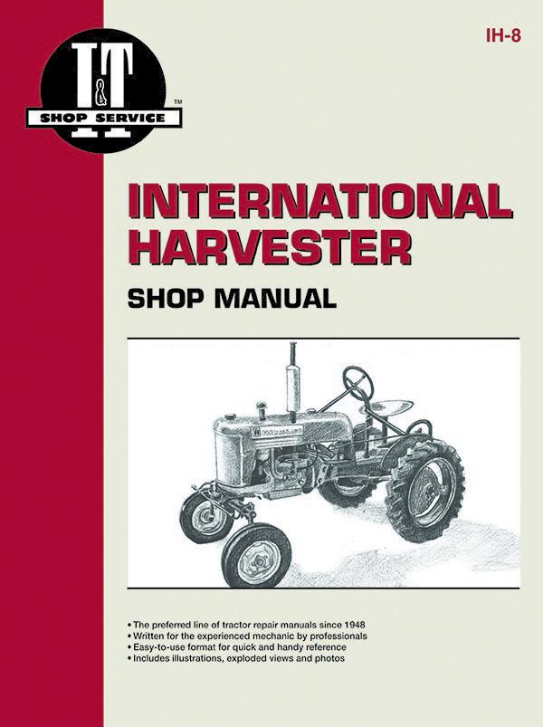 international harvester farmall tractor service repair