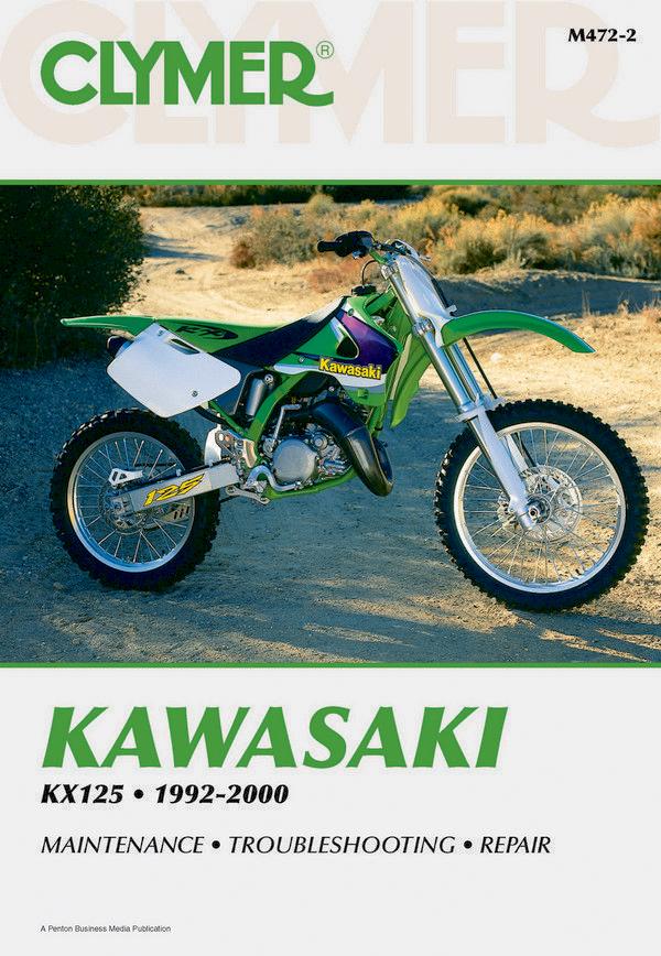 Kawasaki KX125 Motorcycle (1992-2000) Service Repair Manual