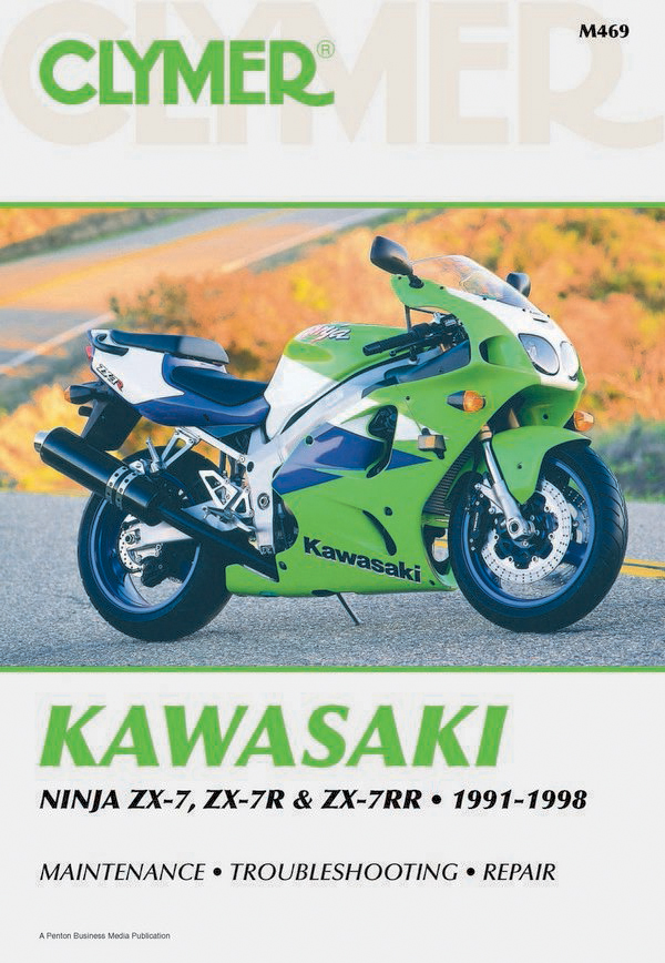 Kawasaki Ninja ZX-7- ZX-7R & ZX-7RR Motorcycle (1991-1998) Service Repair Manual