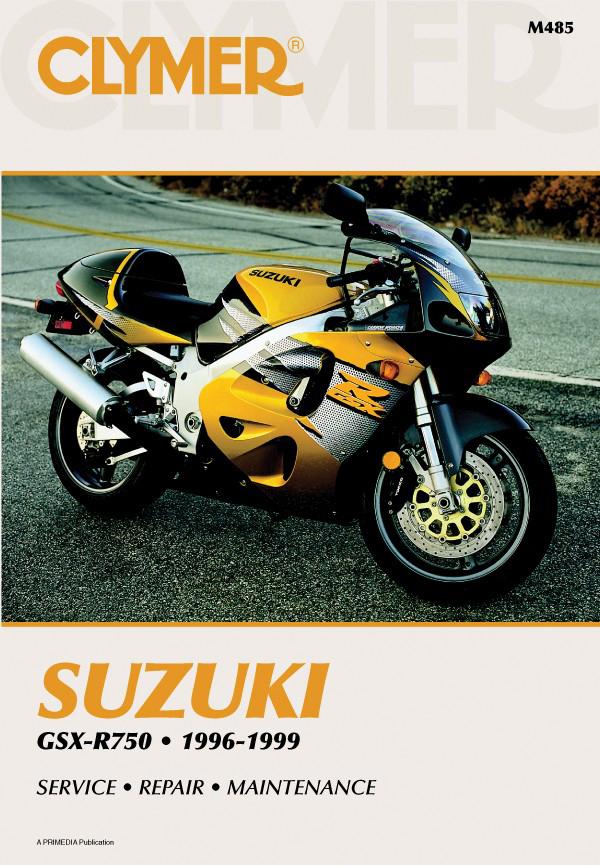 Suzuki GSX-R750 Motorcycle (1996-1999) Service Repair Manual