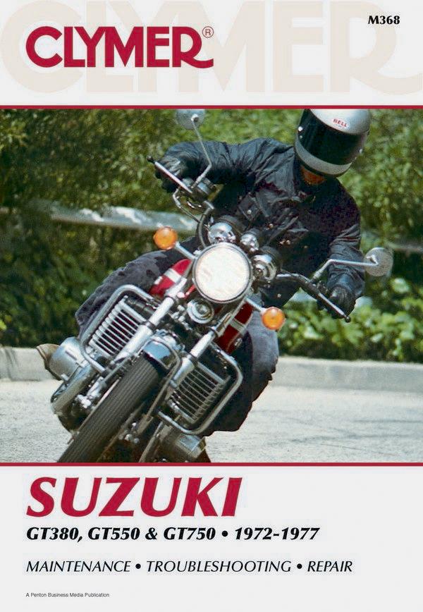 Suzuki GT380/550/750 Motorcycle (1972-1977) Service Repair Manual