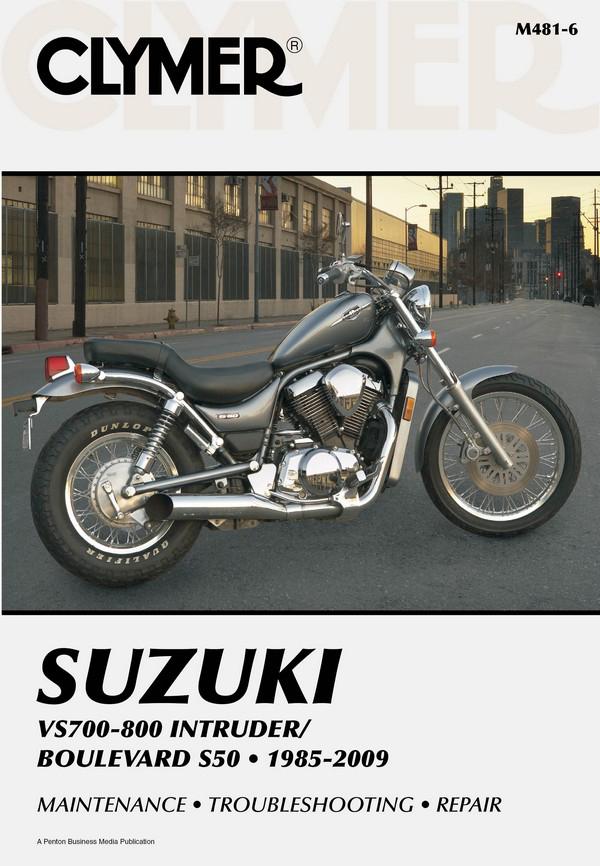 suzuki vs700 800 intruder boulevard s50 motorcycle 1985. Black Bedroom Furniture Sets. Home Design Ideas