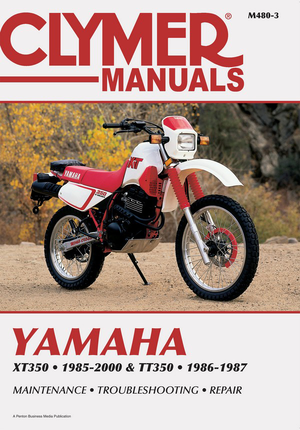 yamaha xt350 tt350 motorcycle 1985 2000 service repair. Black Bedroom Furniture Sets. Home Design Ideas