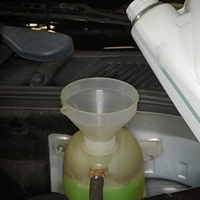 Coolant system draining and refill