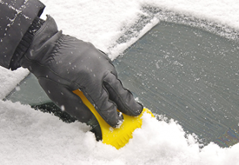 Five tips for de-icing your car on a frosty morning