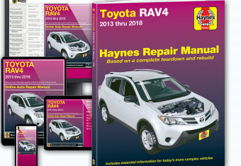 Toyota RAV4 online and paper manual