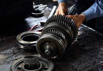 What is a transmission on your car?