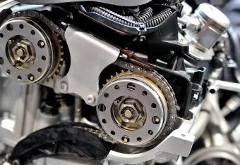 DOHC engine timing chain