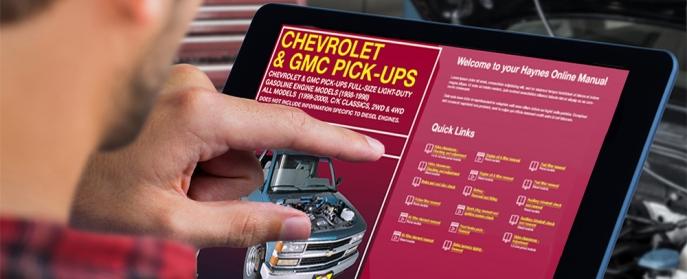 Chevy C1500 Digital Manual