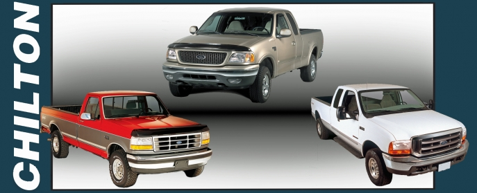Chilton F150, F250, F250HD, F250SD