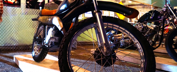 Classic Kawasaki 125cc Enduro - Kawasexi
