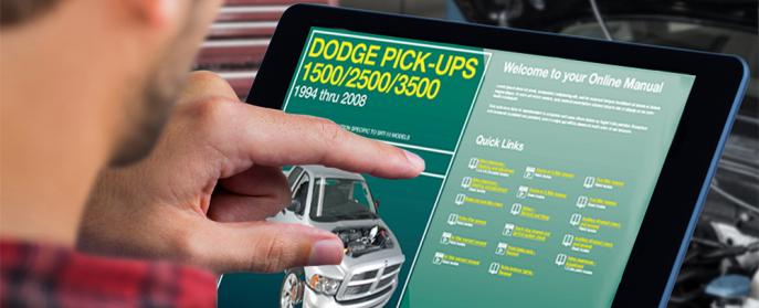 Dodge Ram Truck Digital Manual