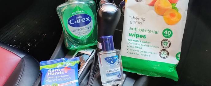 antibacterial cleaning supplies
