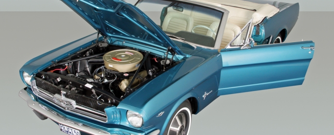 Ford Mustang After Restoration