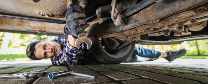 Fixing car