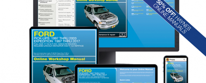 Ford Expedition 36059 manual 50 off
