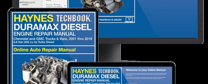 Haynes Duramax Chevrolet GMC engine