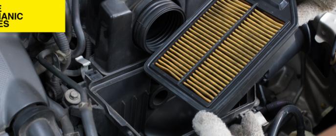 Changing an air filter