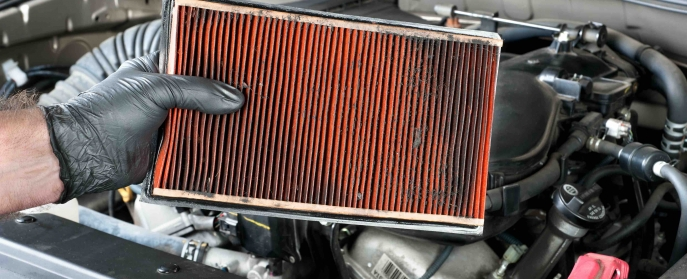 when change air filter car