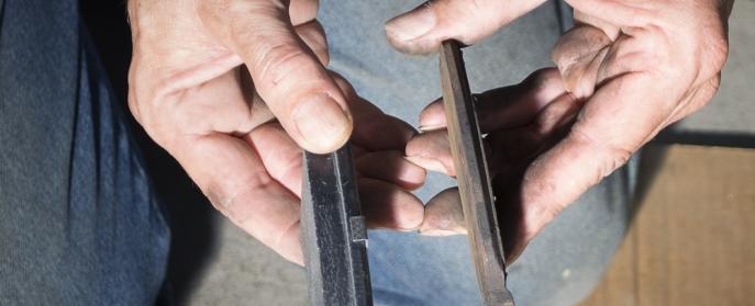 measure brake pad wear