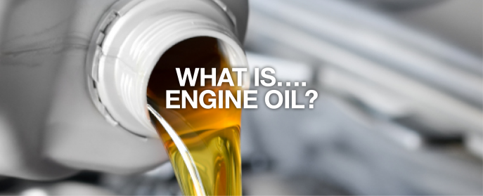 What is engine oil made of, and what type do you need?