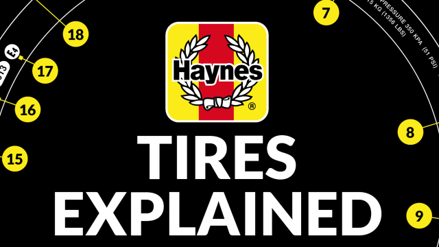 Your car's tire markings explained