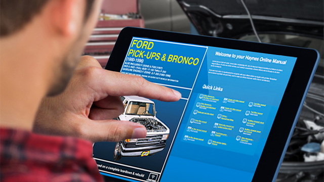 Ford Bronco Digital Manual