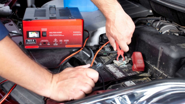 How to charge a flat car battery