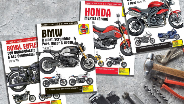 Haynes New Bike Manuals 2019