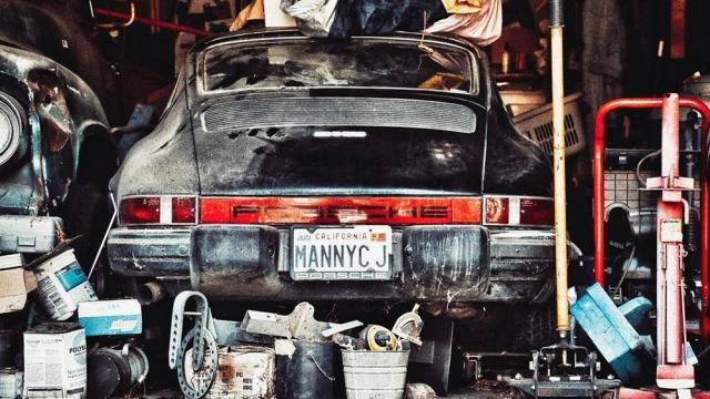 1977 Porsche 911 Barn Find