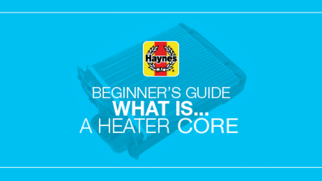 What is a car's heater core?