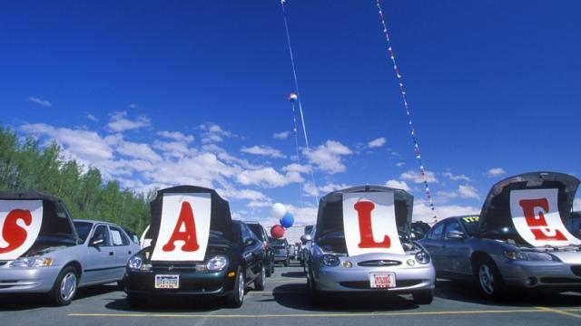 Used Car Dealer Lot SALE