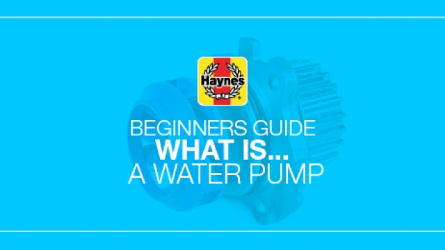 What is a water pump in your car?