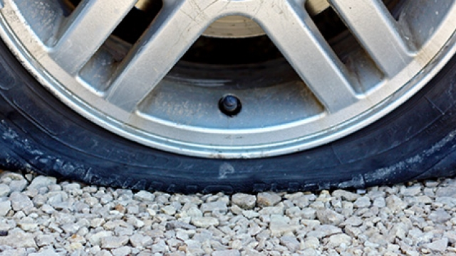 What to do when you have a flat tire