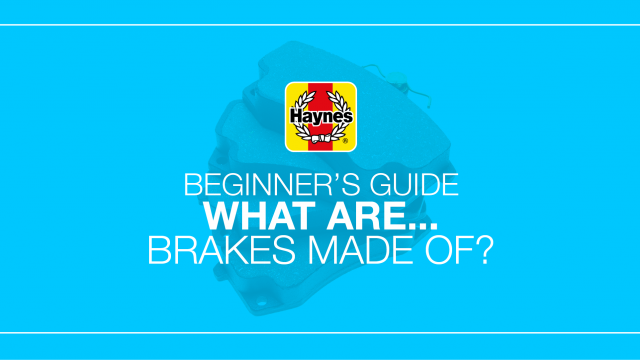 What are brakes made of?