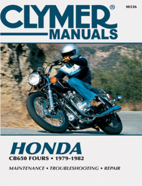 Honda CB650 Series Fours Motorcycle (1979-1982) Service Repair Manual