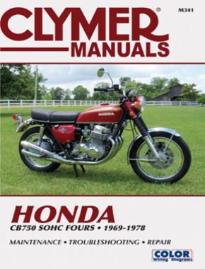 Honda CB750 Single Overhead Cam Motorcycle, 1969-1978 Service Repair Manual