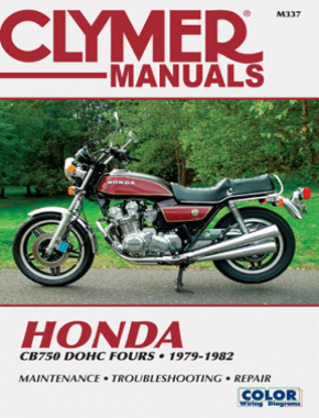 Honda CB750 Dual Overhead Cam Motorcycle, 1979-1982 Service Repair Manual