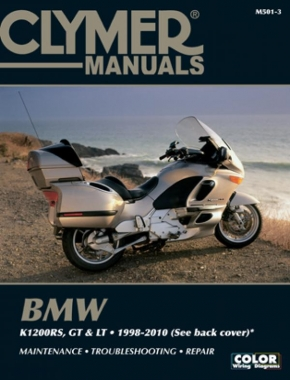 BMW K1200 Motorcycle (1998-2010) Service Repair Manual (Does not cover transverse engine models)