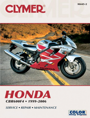 Honda CBR600F4 Motorcycle (1999-2006) Service Repair Manual