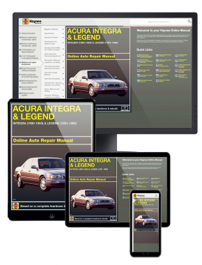 Acura Integra (90-93) and Legend (91-95) Haynes Online Manual