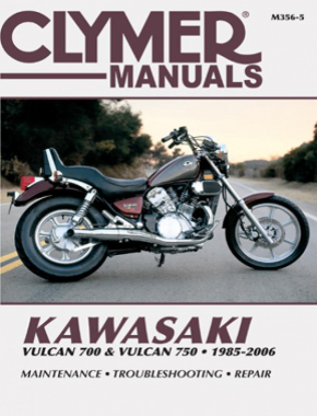 Kawasaki Vulcan 700 & Vulcan 750 Motorcycle (1985-2006) Service Repair Manual