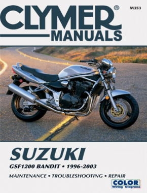 Suzuki GSF1200 Bandit Motorcycle (1996-2003) Service Repair Manual