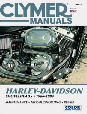 Harley-Davidson Shovelhead Motorcycle (1966-1984) Clymer Repair Manual