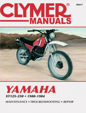Yamaha XT125-250 Motorcycle (1980-1984) Service Repair Manual