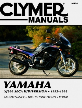 Yamaha XJ600 Seca II/Diversion Motorcycle (1992-1998) Service Repair Manual