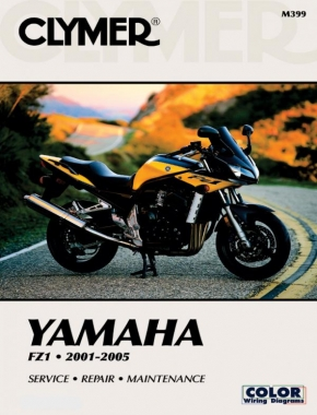 Yamaha FZ1 Motorcycle (2001-2005) Service Repair Manual Online Manual
