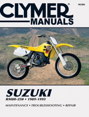 Suzuki RM80-250 Motorcycle (1989-1995) Service Repair Manual